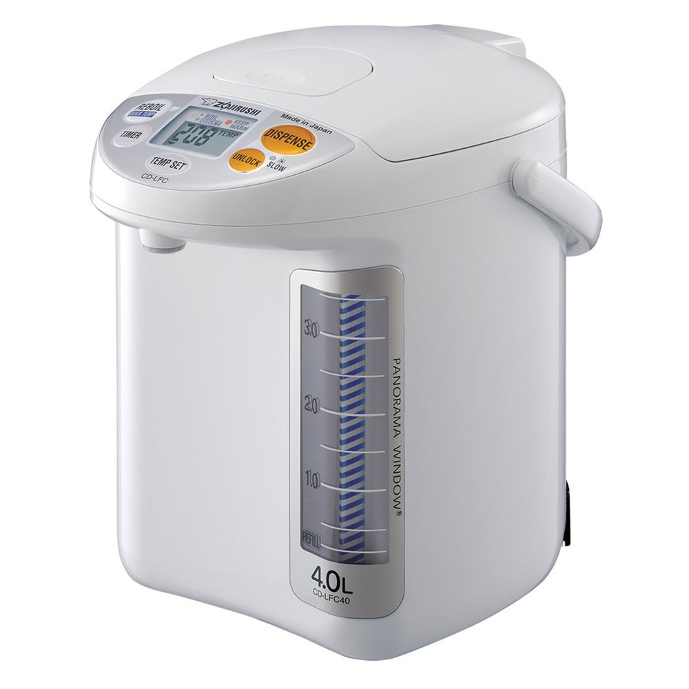 Zojirushi CD-LFC40 4-Liter Panorama Window Micom Water Boiler & Warmer