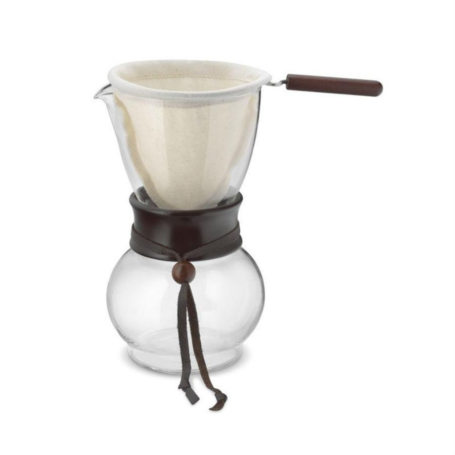 Hario Woodneck 3-Cup Coffee Drip Pot