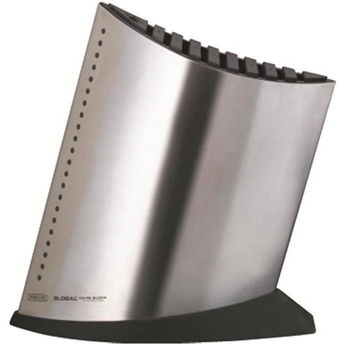 Global SAI 10-Slot Stainless Steel Knife Block