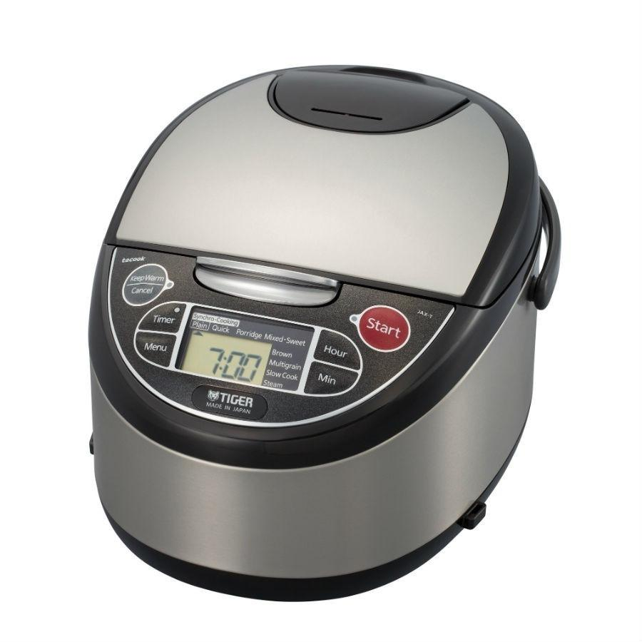Tiger 5.5 Cup 4-in-1 Microcomputer Controlled Rice Cooker