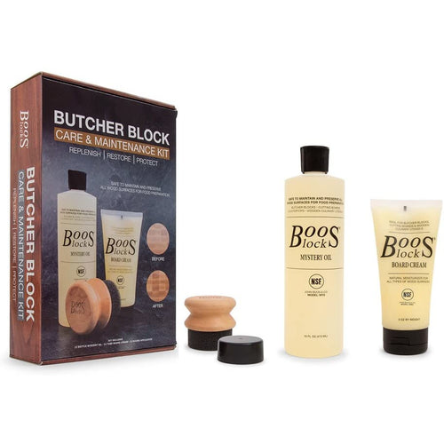 John Boos Cutting Board Maintenance Care Kit