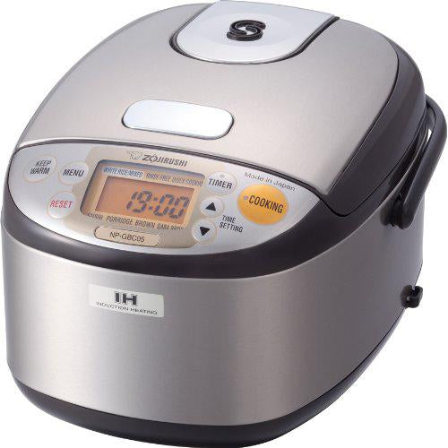 Zojirushi NP-GBC05 3-Cup Induction Heating System Rice Cooker & Warmer