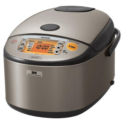 Zojirushi NP-HCC10 5.5-Cup Induction Heating System Rice Cooker & Warmer