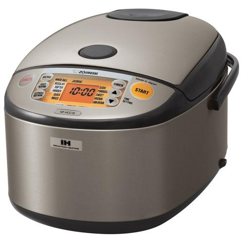 Zojirushi 10-Cup Induction Heating System  Rice Cooker & Warmer