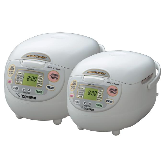 Zojirushi NS-ZCC10 5.5-Cup Neuro Fuzzy Rice Cooker & Warmer