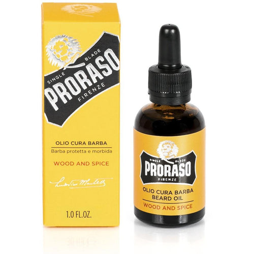 Proraso Wood and Spice Beard Oil 30ml