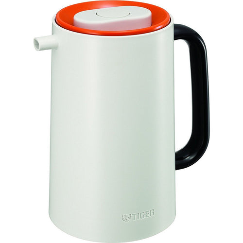 Tiger PRU-A100 1.0L Glass Lined Handy Jug Orange