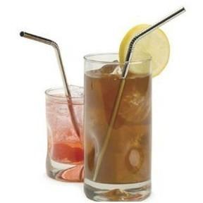 RSVP Endurance Stainless Steel Drink Straws 4-Pack