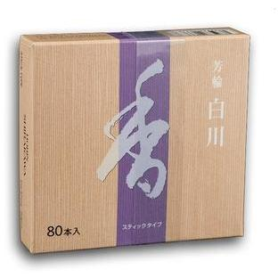 Shoyeido Horin Shirakawa White River Incense (80 Sticks)
