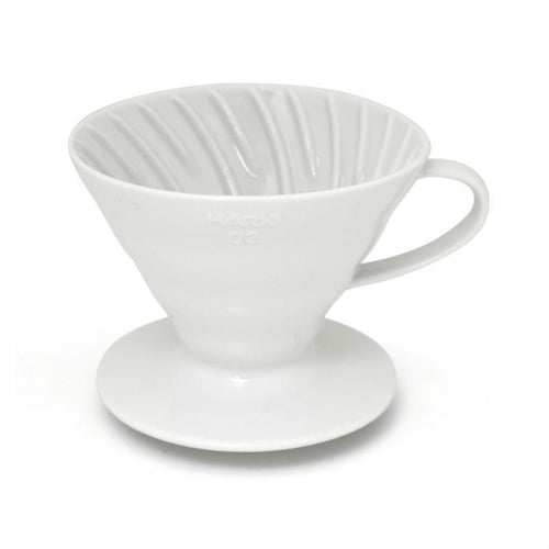 Hario V60 01 White Ceramic Coffee Dripper