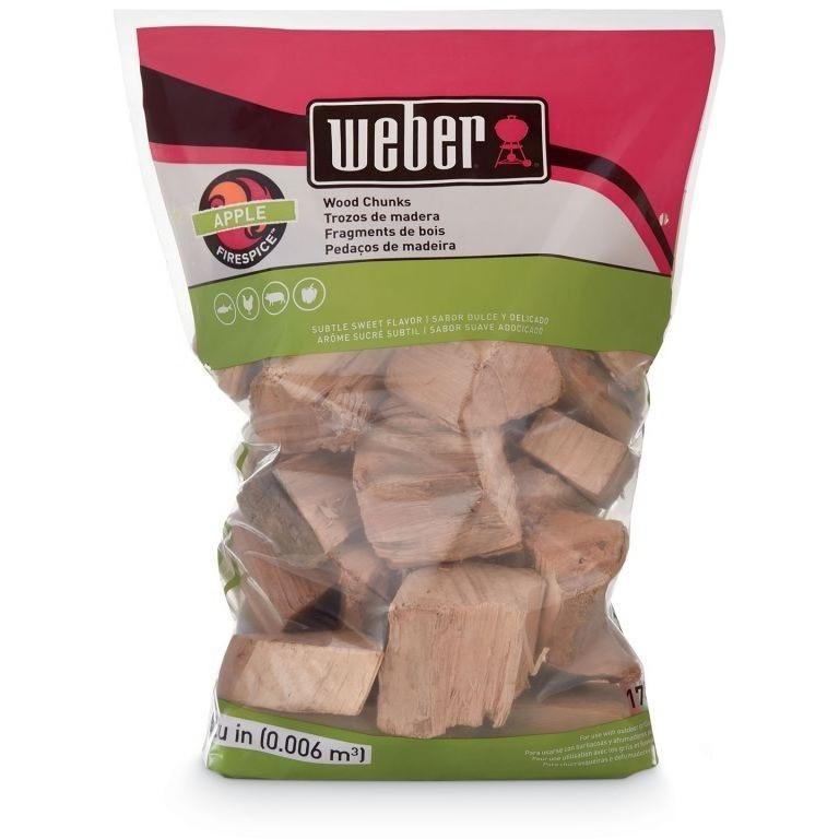 Weber Apple Wood Chunks 4lbs