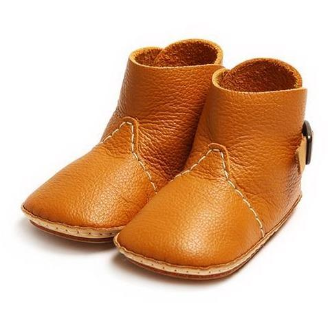Umeloihc Boo 12cm Babies First Shoe Kit Camel