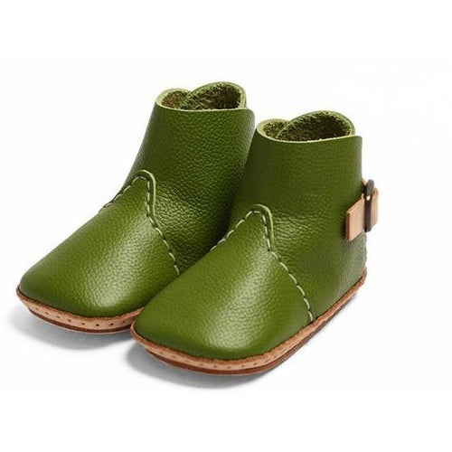Umeloihc Boo 12cm Babies First Shoe Kit Olive