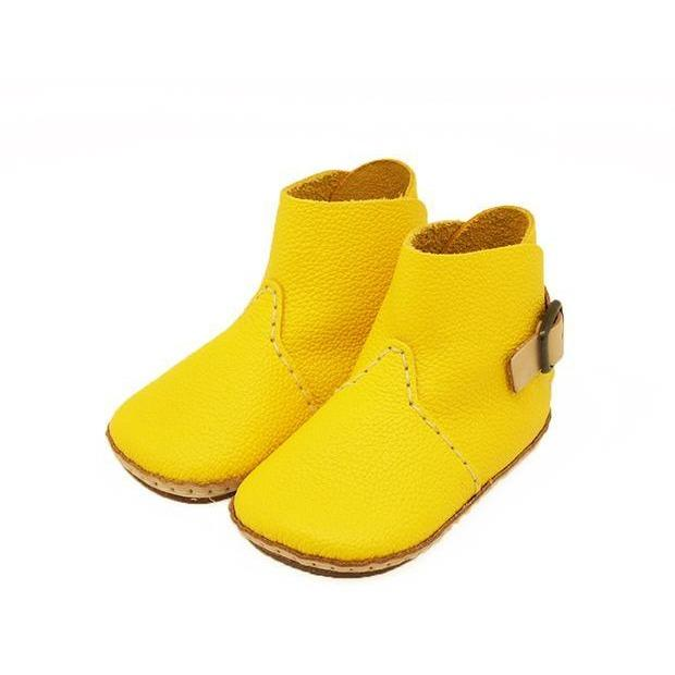 Umeloihc Boo 12cm Babies First Shoe Kit Yellow