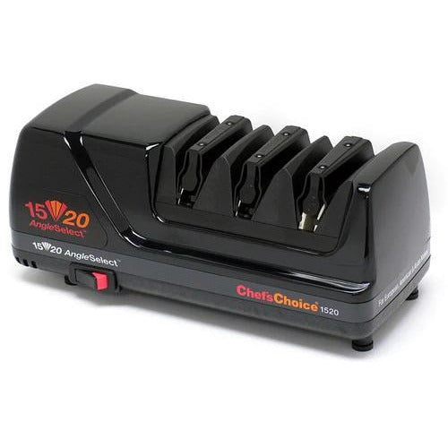 Chef's Choice 1520 AngleSelect Diamond Hone Electric Knife Sharpener Black