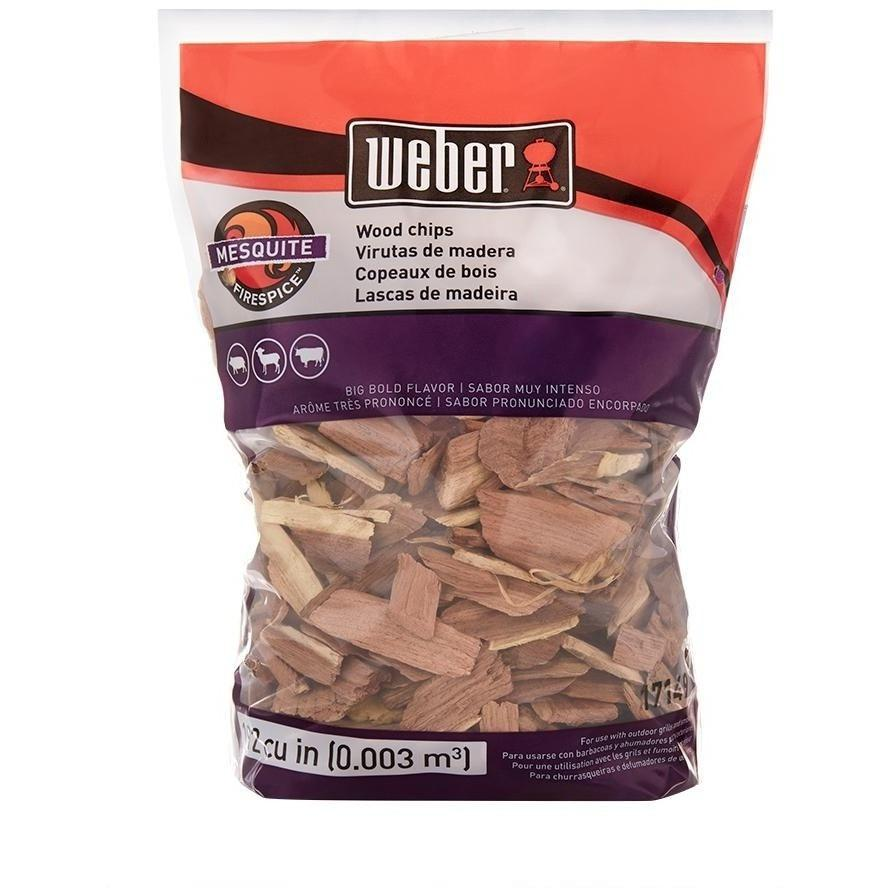 Weber Mesquite Wood Chips 2lbs