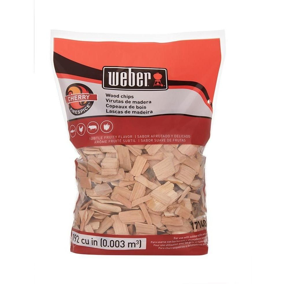 Weber Cherry Wood Chips 2lbs