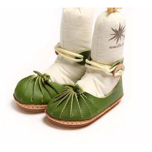 Umeloihc Koma 12cm Babies First Shoe Kit Olive