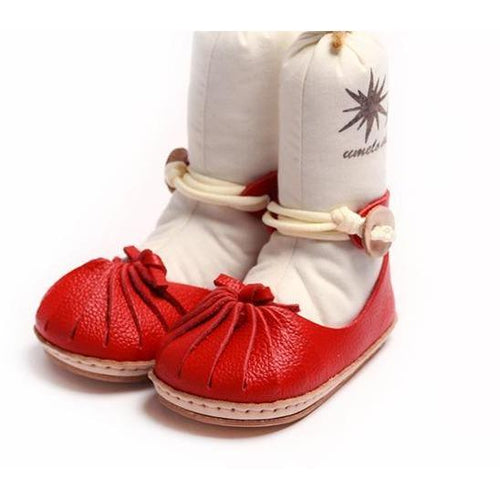 Umeloihc Koma 12cm Babies First Shoe Kit Red