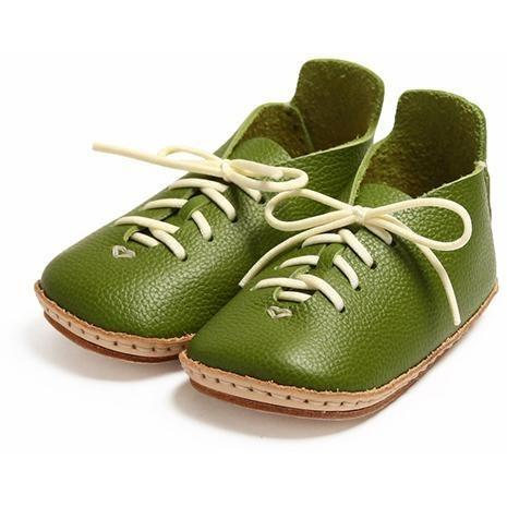 Umeloihc Kurt 12cm Babies First Shoe Kit Olive