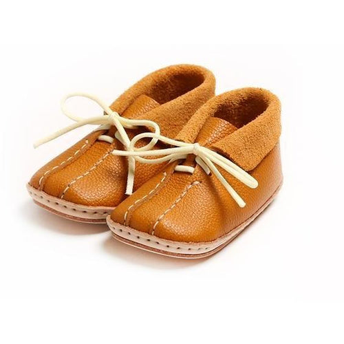 Umeloihc Mic 12cm Babies First Shoe Kit Camel