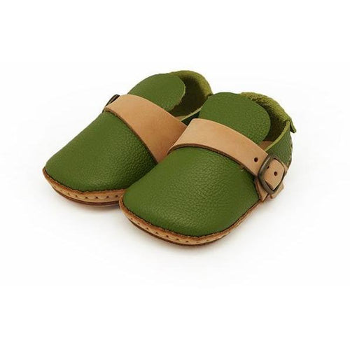 Umeloihc Moku 12cm Babies First Shoe Kit Olive
