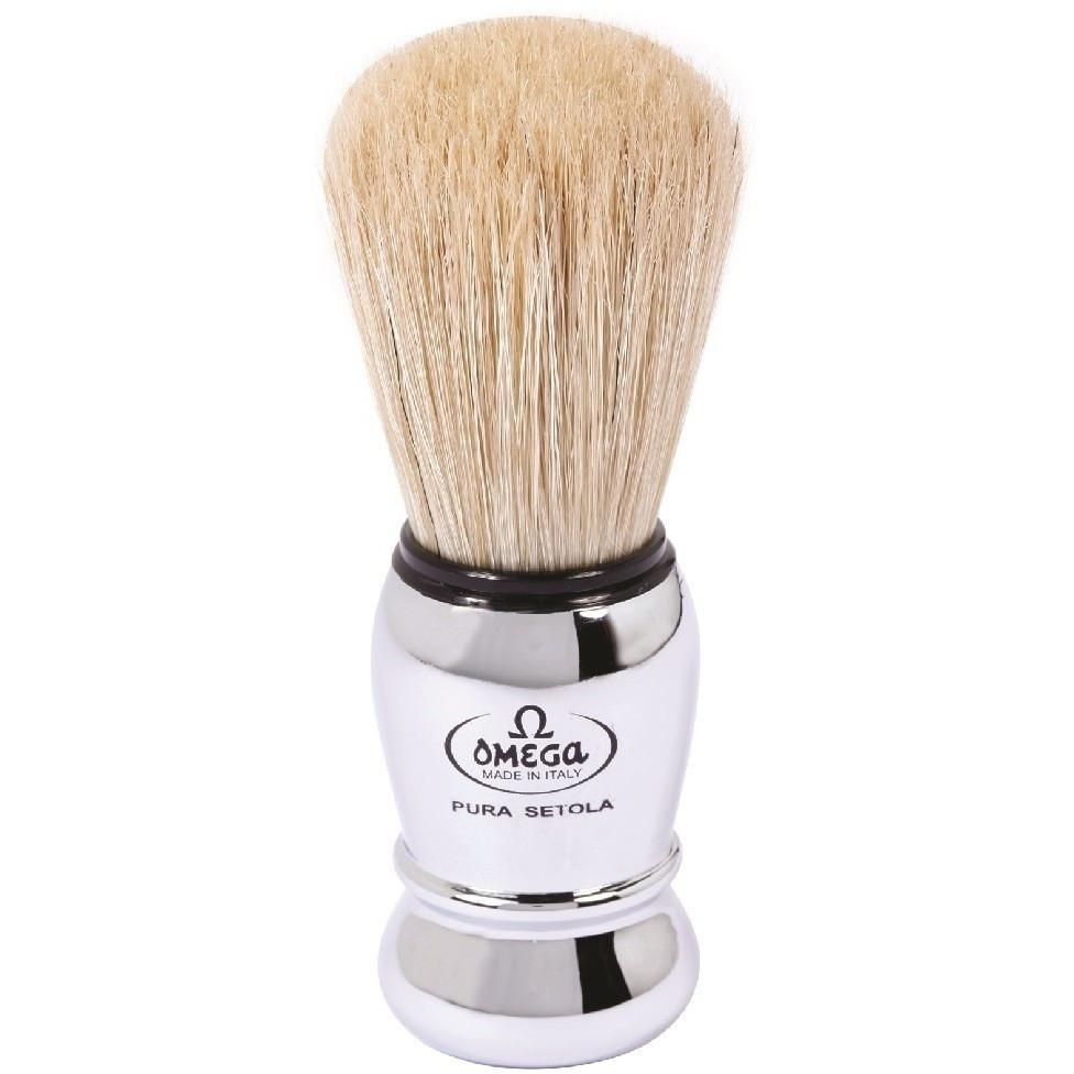 Omega 29 Chromed Style Pure Bristle S Shaving Brush