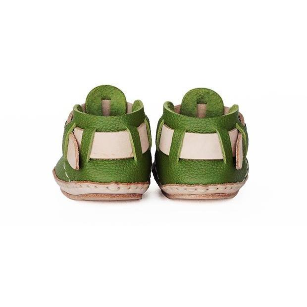 Umeloihc Teo 12cm Babies First Shoe Kit Olive