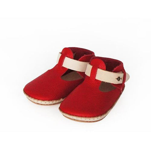 Umeloihc Teo 12cm Babies First Shoe Kit Red