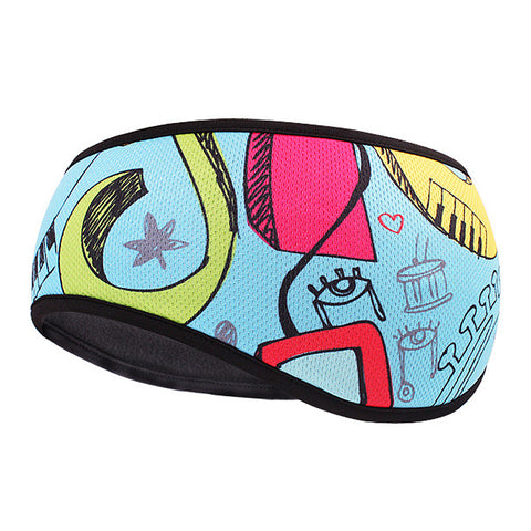 HikeValley Winter Ear Warmer Headband Fleece Hair Band