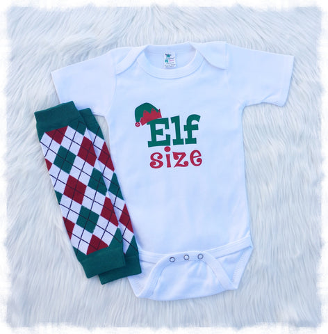 6c22132fa64a0 Boy Baby Christmas Outfit, Elf Size Outfit - Weebie Cuties