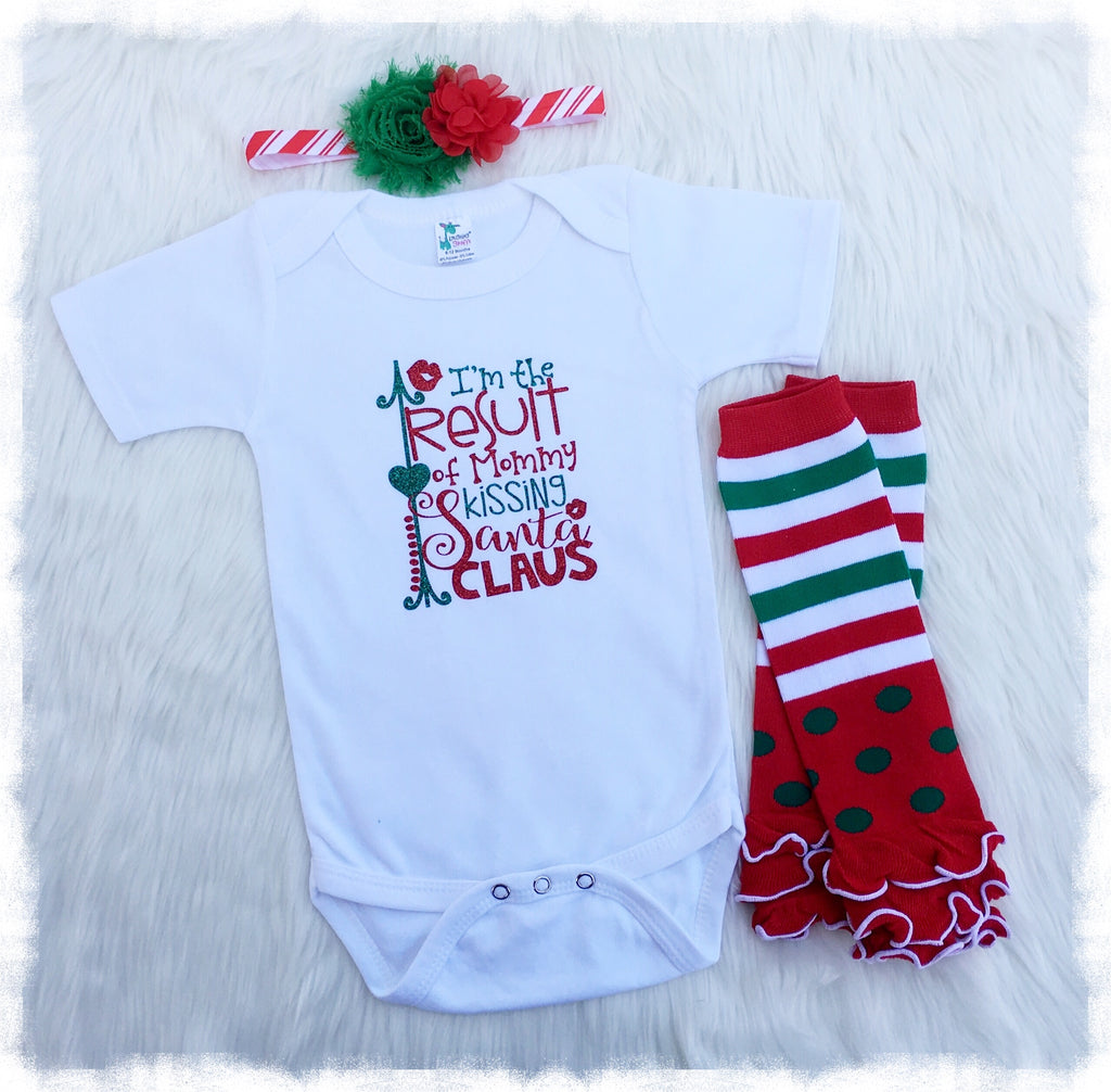 4c20dc02c61ea Christmas Outfits For Baby Girl, 3 Piece Clothing Set - Weebie Cuties