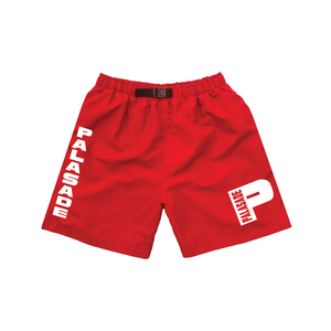 "PALASADE ""P-LOCK"" ACTIVE SHORTS (RED)"