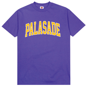 "PALASADE ""LAKER"" ARC LOGO TEE (PURPLE)"