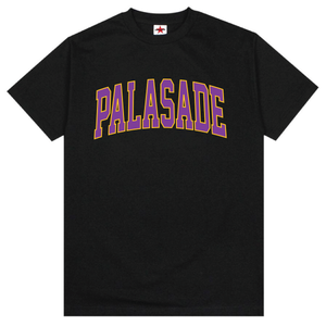 "PALASADE ""LAKER"" ARC LOGO TEE (BLACK)"