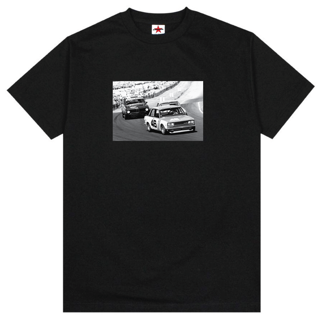 TRANS AM DATSUN VS. BMW TEE (BLACK)