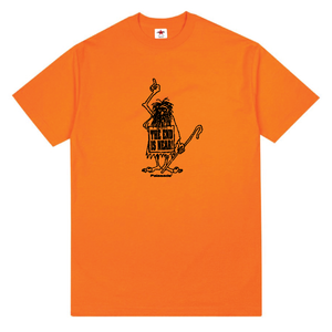 "PALASADE ""CAVEMAN"" TEE (ORANGE)"