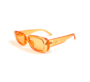 "PALASADE ""STAR LOGO"" SUNGLASSES (ORANGE)"