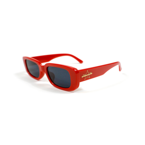 "PALASADE ""STAR LOGO"" SUNGLASSES (CHERRY RED)"