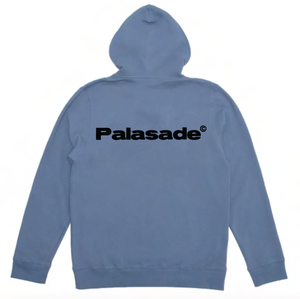 "PALASADE ""RESERVOIR"" LOGO ZIP-UP (SLATE)"
