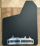 Mud Flaps / Gravel Guards - CHITOWN Custom Emblem