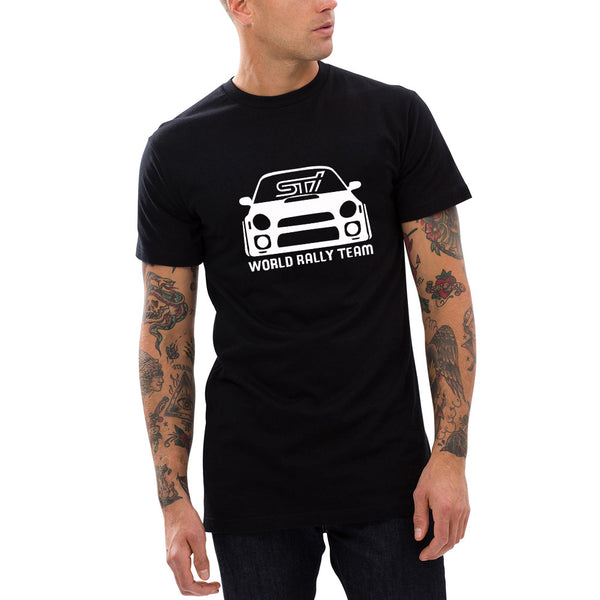 T-Shirt - Subaru STI WRX World Rally Team Bug-eye