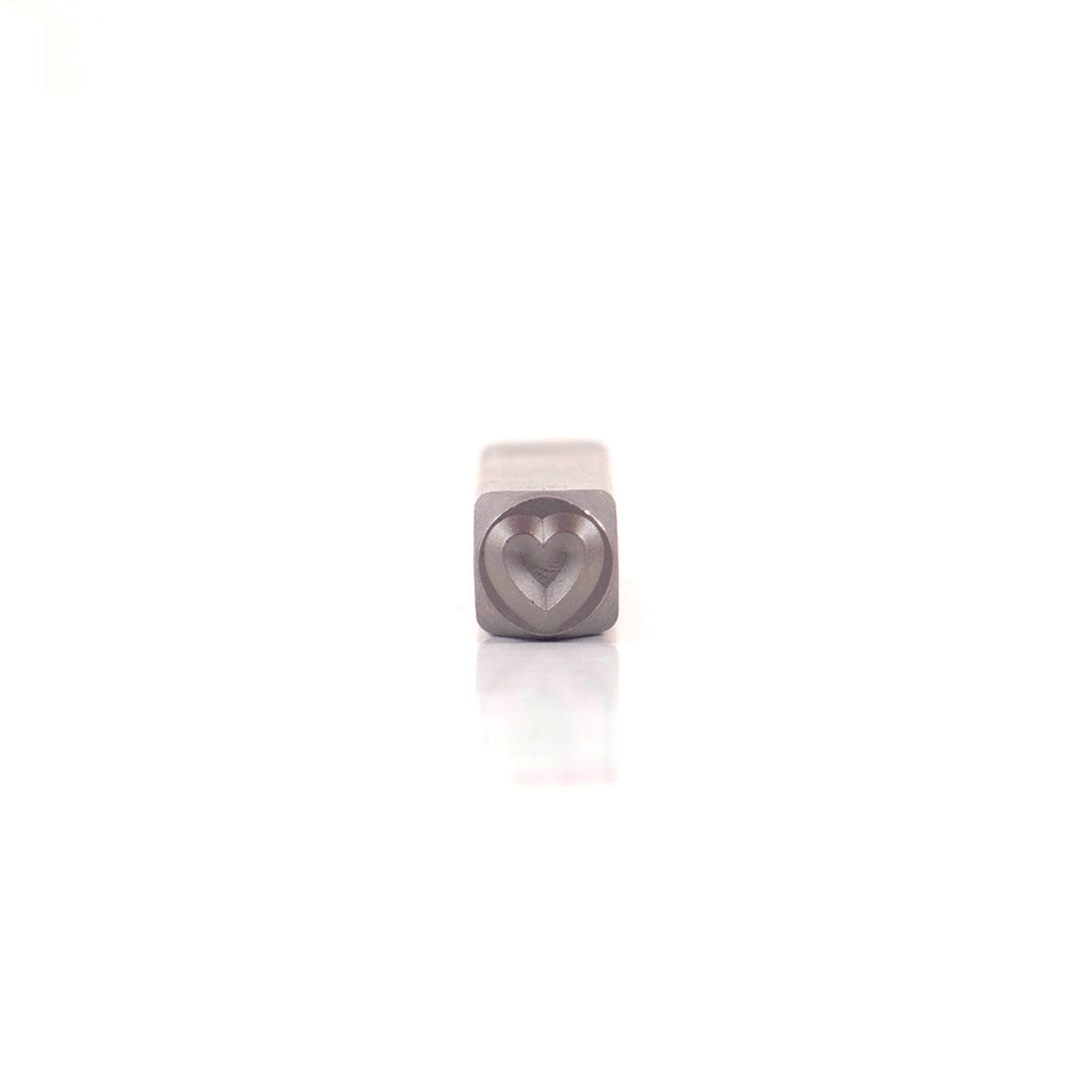 Heart Poker Wedge Stamp