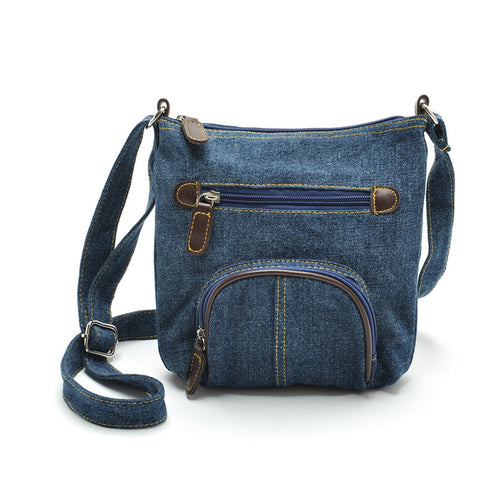 Casual Hobos  Denim Messenger Bag