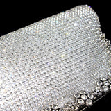 Crystal Silk Evening Bag