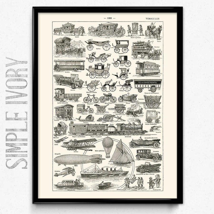 Cars Vintage Print 1 구매- Orion Wells