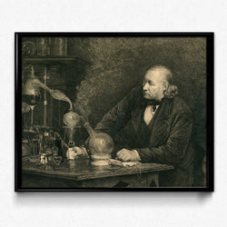 Biology, Chemistry, Alchemy Vintage Print - Orion Wells