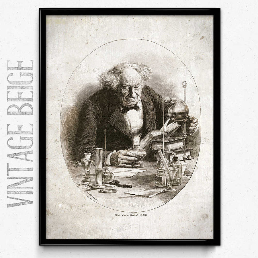 Chemistry Alchemy Vintage Print 18 (VP1011) - Orion Wells
