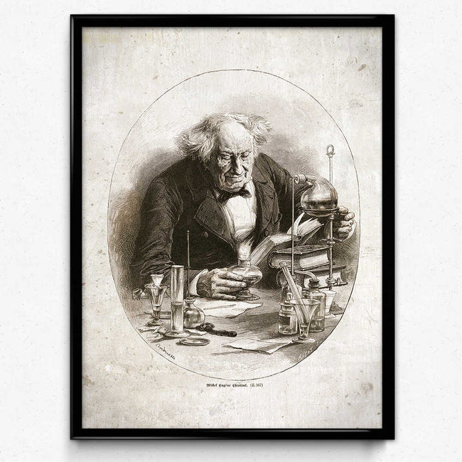 Shop for Chemistry Alchemy Vintage Print 18 (VP1011) - Orion Wells