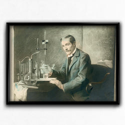 Shop for Biology, Chemistry, Alchemy Vintage Print - Orion Wells